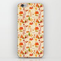 Woods Pattern iPhone & iPod Skin