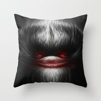 EVIL Throw Pillow