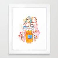 KoyLily Framed Art Print
