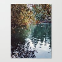 Heavenly Pond in Franklin Canyon Park, CA Canvas Print