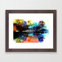 Seeyaround Framed Art Print