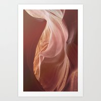 Antelope Canyon 1 Art Print