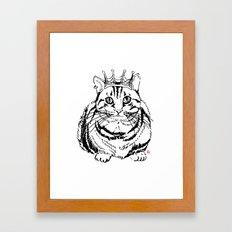 I am KING Framed Art Print
