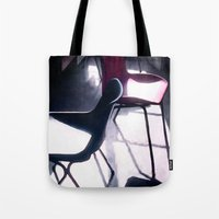 Art Studio Chairs Tote Bag