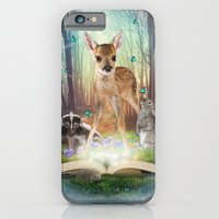 Believe In Magic • (Bambi Forest Friends Come to Life) iPhone 6 Slim Case
