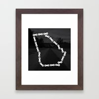 Ride Statewide - Georgia Framed Art Print
