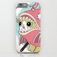 Aqua cat_Muka iPhone 6 Slim Case