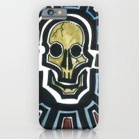 iPhone & iPod Case featuring Sovereign Skull by Sean Martorana