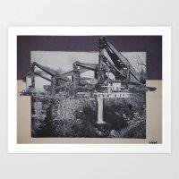 Industrial Fall Art Print