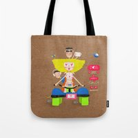 Dogs are a happy family ❤️ Tote Bag