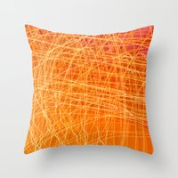Eutectic Throw Pillow
