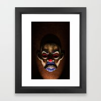 SINISTER Framed Art Print