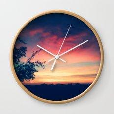 An Arizona Sunset Wall Clock