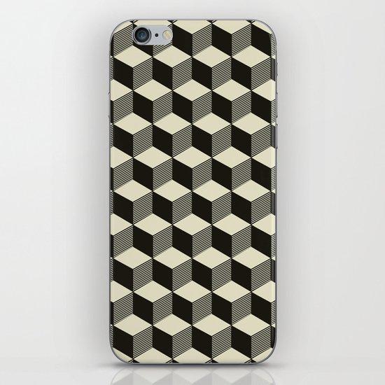 Metatron Cubes 02 iPhone & iPod Skin