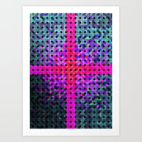 Boxross Art Print