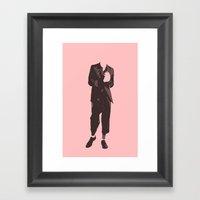 J'adore Les Garçons En … Framed Art Print