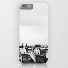 Upon the rooftops (B&W) iPhone 6 Slim Case