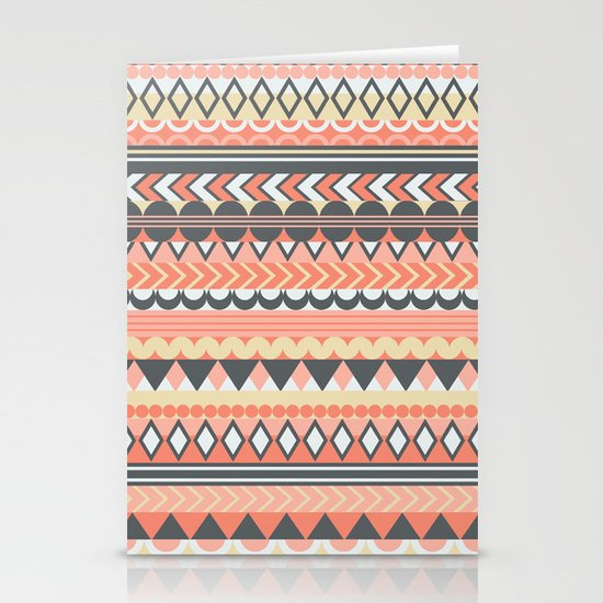 Bohemian  Stationery Card
