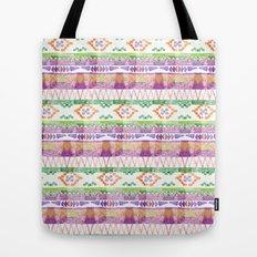 Watercolour Quilt #2 Tote Bag