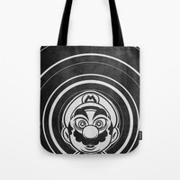 Super Trippin Bros. Mario is All Stars. Tote Bag