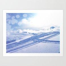 Fresh Tracks Art Print
