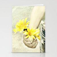 Grandmas Flowers Stationery Cards