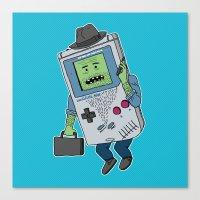 Game Man Canvas Print