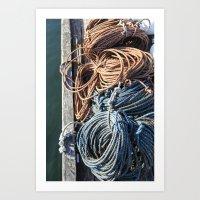 Fisherman's Ready - Main… Art Print
