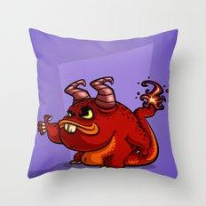 PICKUP MONSTER Throw Pillow