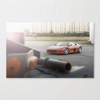 Ferrari F355 GTS Canvas Print