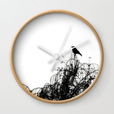 Black Bird Wall Clock