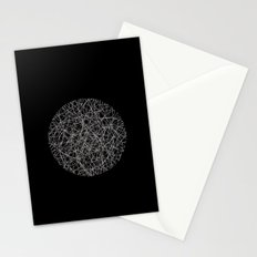 Circle - Lines - Inverted Stationery Cards