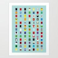 Minimalism SH Art Print