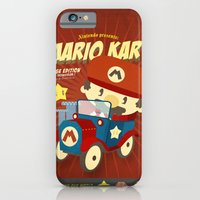 mario kart vintage iPhone 6 Slim Case