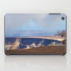On Top Of The Volcano iPad Case