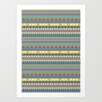 Berlin pattern Art Print
