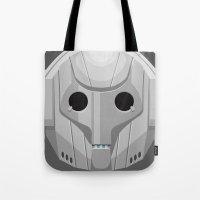 Cyberman - Doctor Who Tote Bag