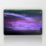 Purple Twilight Sky Laptop & iPad Skin