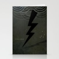 The Black Bolt Stationery Cards