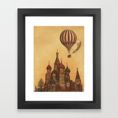 Moving to Moscow Framed Art Print