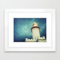 Lighthouse, Byron Bay Framed Art Print