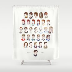 Time May Change Me II Shower Curtain