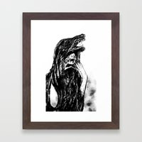 The Beast Within Framed Art Print