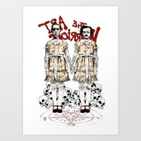 Evil Twins Art Print