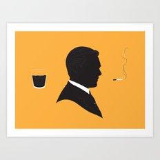 MAD MEN / DON DRAPER Art Print