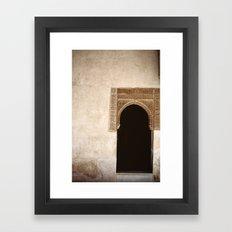 Alhambra Framed Art Print
