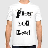 Pun Mens Fitted Tee White SMALL