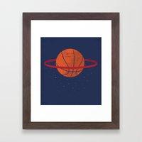 Spaceball Framed Art Print