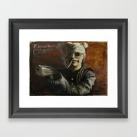 Assassinos de Categoria Framed Art Print