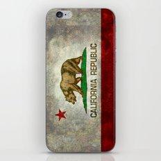 State flag of California iPhone & iPod Skin